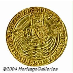 Henry VI (1st reign of 1422-61) gold Noble,