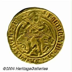 Henry VIII (1509-47) gold Angel, 1st coinage