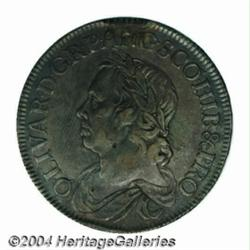 Cromwell Crown 1658/7. S-3226. VF in sharpness