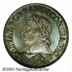 Cromwell crown 1658/7. S-3226. Advanced