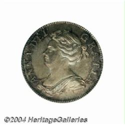 Queen Anne Shilling 1708, S-3610. 3rd bust.