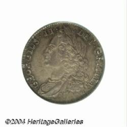 George II Roses Sixpence 1743, S-3709. Old
