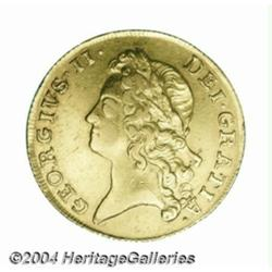 George II gold Two Guineas 1739, S-3667B.