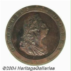 George III copper Proof Penny 1797, S-3777.