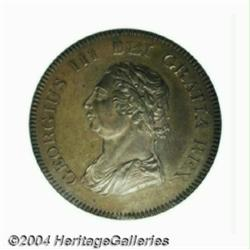 George III copper Pattern BOE 5 Shillings &