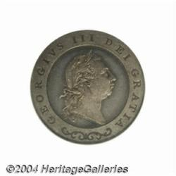 George III silver Pattern Guinea 1791. By