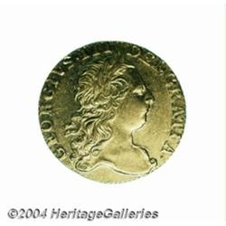 George III gold Guinea 1773, S-3727. 3rd head,