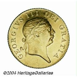 George III gold Guinea 1813, S-3730. Another