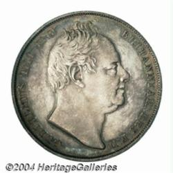 William IV silver Proof Crown 1831, S-3833.