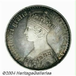 Victoria Gothic Crown 1847, S-3883. Lettered