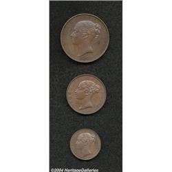 Victoria Young Head copper Proofs 1839. The