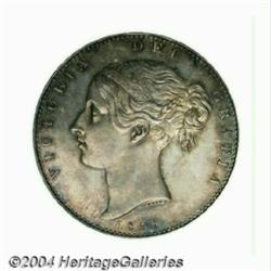 Victoria Young Head Proof Crown 1839, S-3882.