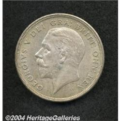 George V silver Wreath Crown 1931, S-4036.