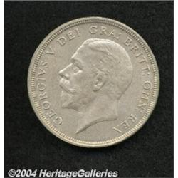 George V silver Wreath Crown 1933, S-4036.
