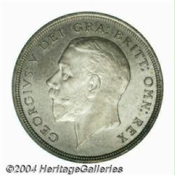 George V silver Proof Wreath Crown 1934,