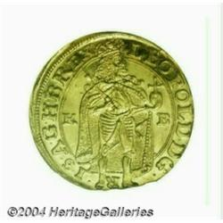Leopold gold Ducat 1690KB, Ruler