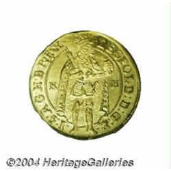 Leopold gold Ducat 1695KB, Ruler