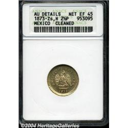 Republic. Gold 2 1/2 Pesos 1873-Zs-H, KM411.6,