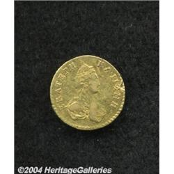 Catherine II gold 1/2 Rouble 1777, C-75, VF,