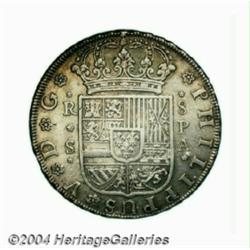 Philip V 8 Reales 1731S-PA, KM358, nearly XF,