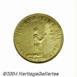 Obwalden. Gold ducat 1787 (restrike of 1860),