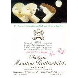 2xChateau Mouton Rothschild 1986  (750ml)