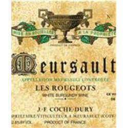 3xMeursault Les Rougeots Coche-Dury 2011  (750ml)