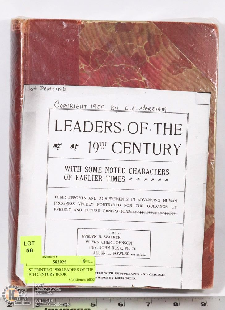 industrial leaders of the 19th century Get an answer for 'to what extent is it justified to characterize the industrial  to characterize the industrial leaders of the  late 19th century as.