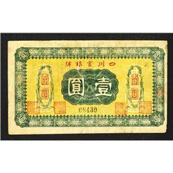 Szechuan Official Bank. ND Issue.