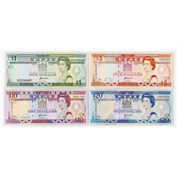 Reserve Bank of Fiji, 1992-1993, Issued Quartet