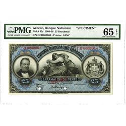 Banque Nationale, 1918, Specimen Note