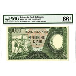 Bank Indonesia, 1964 Issue Banknote.
