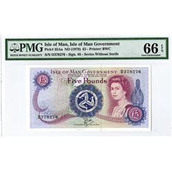Isle of Man Government, 1979 ND Issue Banknote.
