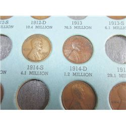 Indian and Lincoln Cent Assortment.