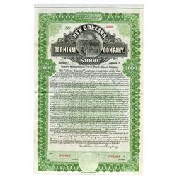 New Orleans Terminal Co., 1903 Specimen Bond