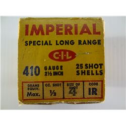 25 ROUNDS IMPERIAL .410GA