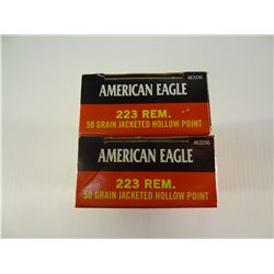 40 ROUNDS AE .223 REM 50 GRAIN JHP