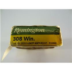 15 ROUNDS REMINGTON.308 WIN 180 GRAIN SP