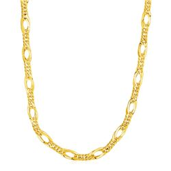 Twisted Oval Chain Necklace in 14K Yellow Gold