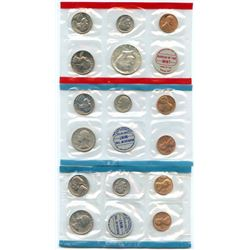 1970-D-P-P US Mint Uncirculated 15 Coin Set