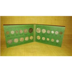 20th Century Coins of the US, 22 Coin Set folder