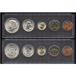 1964 US Uncirculated Mint Set, 90% silver