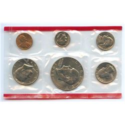 1978-D US Mint Uncirculated 6 Coin Set w/envelope