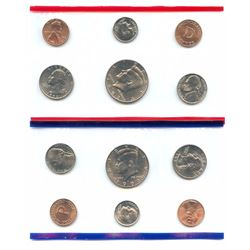 1993-D&P US Mint Uncirculated 10 Coin Set