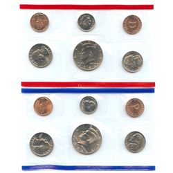 1994-D&P US Mint Uncirculated 10 Coin Set