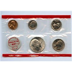 1968-D US Mint Uncirculated 5 Coin Set