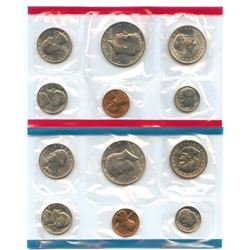 1979-D&P US Mint Uncirculated 12 Coin Set