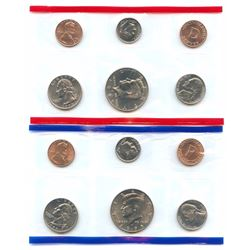 1995-D&P US Mint Uncirculated 10 Coin Set