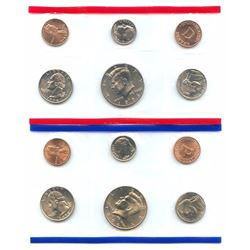 1996-D&P US Mint Uncirculated 10 Coin Set