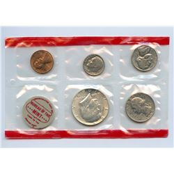 1969-D US Mint Uncirculated 5 Coin Set